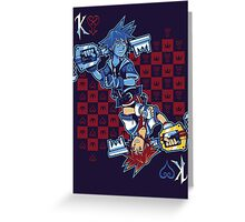 Anti-King of Hearts Greeting Card