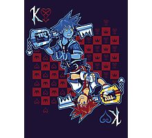 Anti-King of Hearts Photographic Print