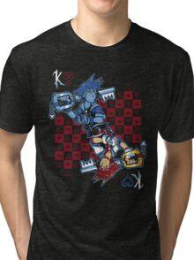 Anti-King of Hearts Tri-blend T-Shirt
