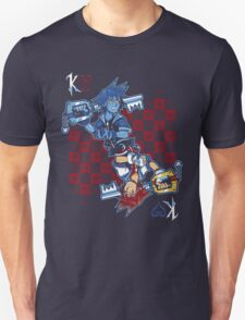 Anti-King of Hearts Unisex T-Shirt