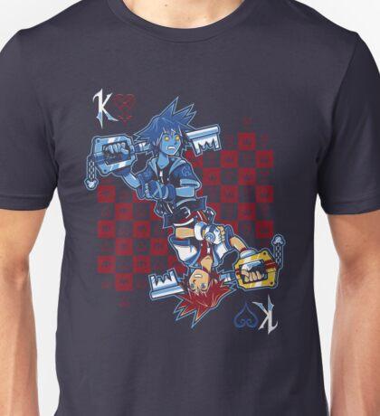 Anti-King of Hearts Unisex T-Shirt