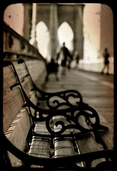 Brooklyn bench deux by Sonia de Macedo-Stewart