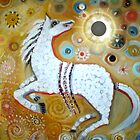 The White Pony of the Eclipse by Helena Wilsen - Saunders