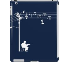 Wired Sound - White iPad Case/Skin