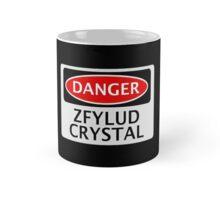 DANGER ZFYLUD CRYSTAL FAKE ELEMENT FUNNY SAFETY SIGN SIGNAGE Mug