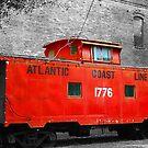 Little Red Caboose by JGetsinger