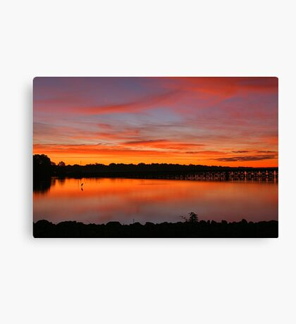 Colors Of Dawn Canvas Print