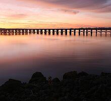 Washington Riverfront At Dawn by JGetsinger