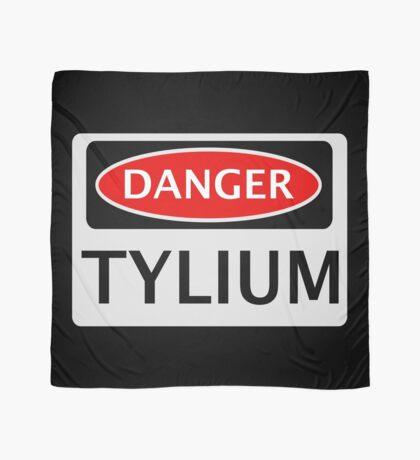 DANGER TYLIUM FAKE ELEMENT FUNNY SAFETY SIGN SIGNAGE Scarf