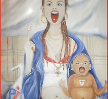 The Chav madonna #2 by Helena Wilsen - Saunders