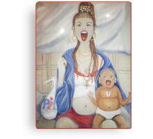 The Chav madonna #2 Canvas Print
