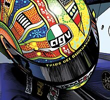 Valentino Rossi by quigonjim
