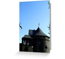 Schloss Burg Greeting Card