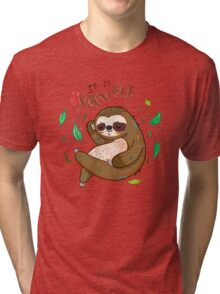 I am so slothvely Tri-blend T-Shirt