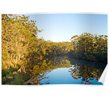 Morning on Denmark River Poster