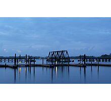 Morning Harbor Photographic Print