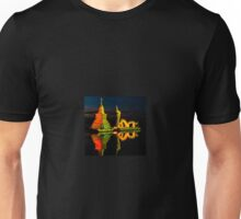 Dragon and Temple Unisex T-Shirt