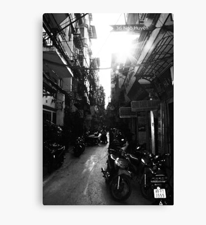 Streetlife Hanoi Canvas Print