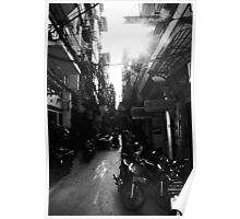 Streetlife Hanoi Poster