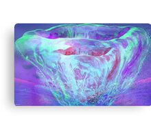 Melting- Abstract  Art + Products Design  Canvas Print