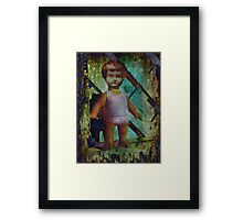 China Doll Barbie Framed Print