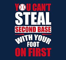 You can't steal second base with your foot on first - Red Blue by nektarinchen