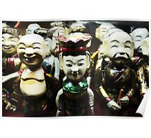 Water puppets  Poster