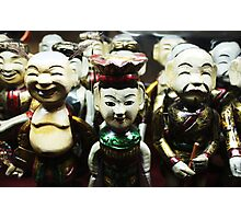 Water puppets  Photographic Print