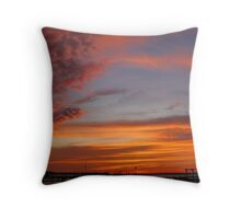 Colors and Formations Throw Pillow