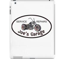 Joe's Garage iPad Case/Skin