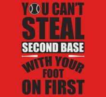 You can't steal second base with your foot on first by nektarinchen