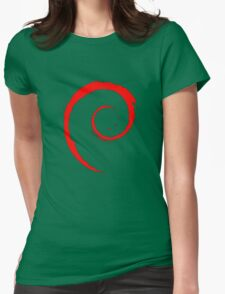 DEBIAN ULTIMATE Womens Fitted T-Shirt