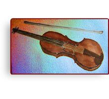Violin watercolour . Canvas Print