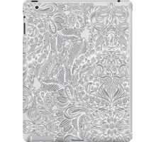 Frost & Ash - an Art Nouveau Inspired Pattern iPad Case/Skin