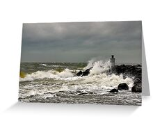 A windy day..... Greeting Card