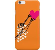 Human reaching for a heart iPhone Case/Skin