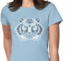 White Tiger Womens Fitted T-Shirt
