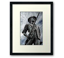 Patriot, citizen, soldier Framed Print