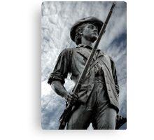 Patriot, citizen, soldier Canvas Print
