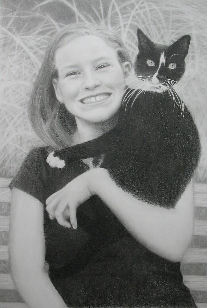 Portrait of Spencer by Chelsea Kerwath
