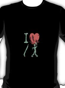 I love to kill Zombies T-Shirt
