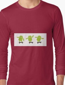 ANDROID EXPLORER Long Sleeve T-Shirt