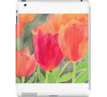 Orange And Red Tulips iPad Case/Skin