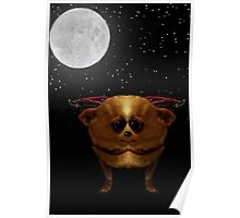 Cuddly Vampire Chihuahuas from Space Poster