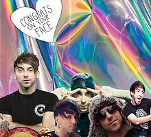 Alex Gaskarth Holographic  by itsnotaphase