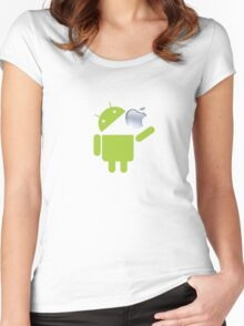 Android Ultimate Women's Fitted Scoop T-Shirt
