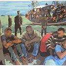 Refugee Boat by Varvarasty