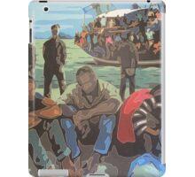 Refugee Boat iPad Case/Skin