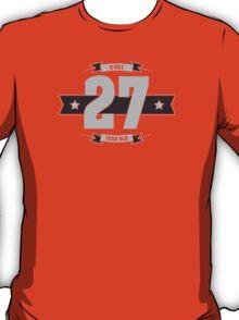 B-day 27 (Light&Darkgrey) T-Shirt