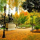 Colourful afternoon in the Park by worldtripper